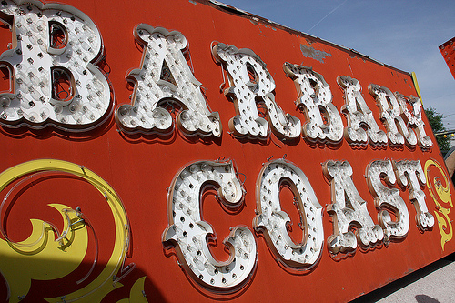 Barbary Coast Sign