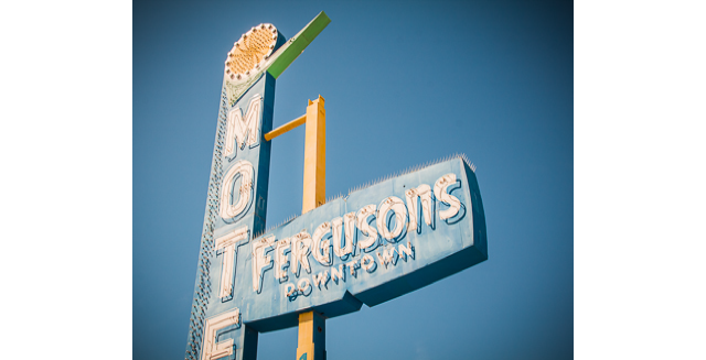 Exclusive Access to Ferguson's Motel