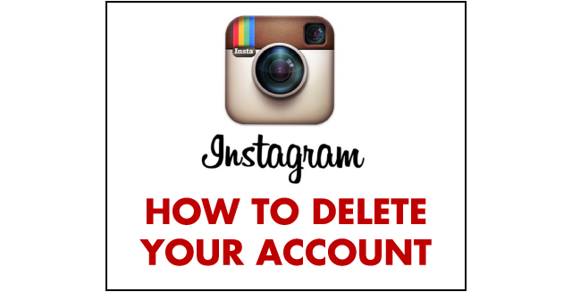 Instagram - How to Delete Your Account