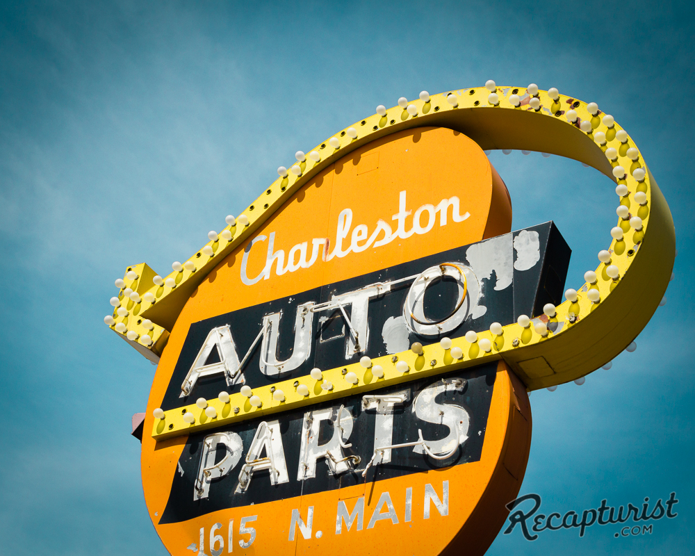 Charleston Auto Parts (North Las Vegas, NV) - Vintage Neon Signs