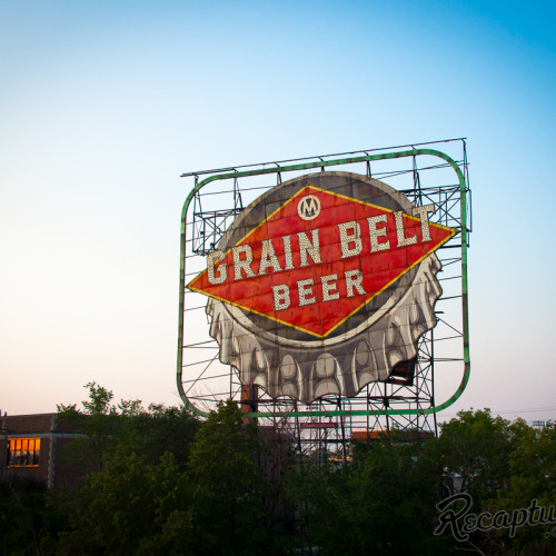 Grain Belt Beer Sign (Minneapolis, MN)