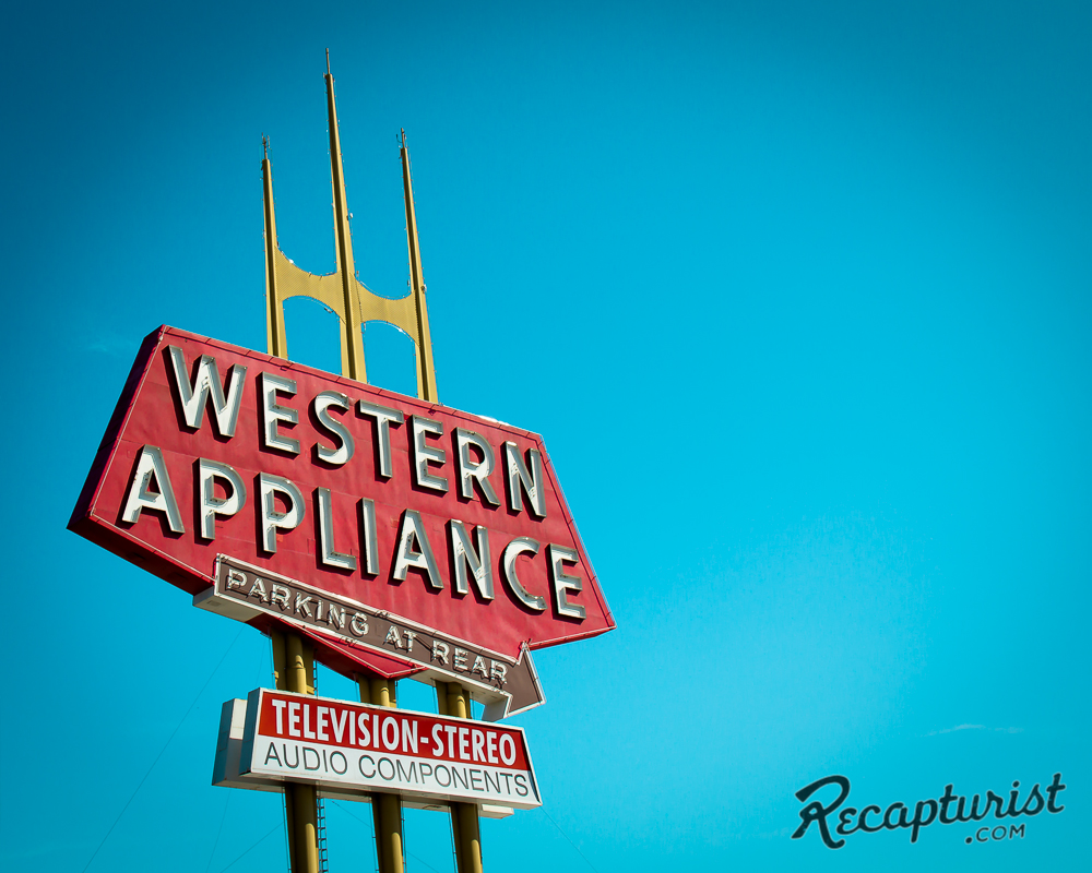Western Appliance (San Jose, CA) - Vintage Neon Signs