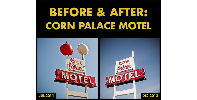 Before & After: Corn Palace Motel