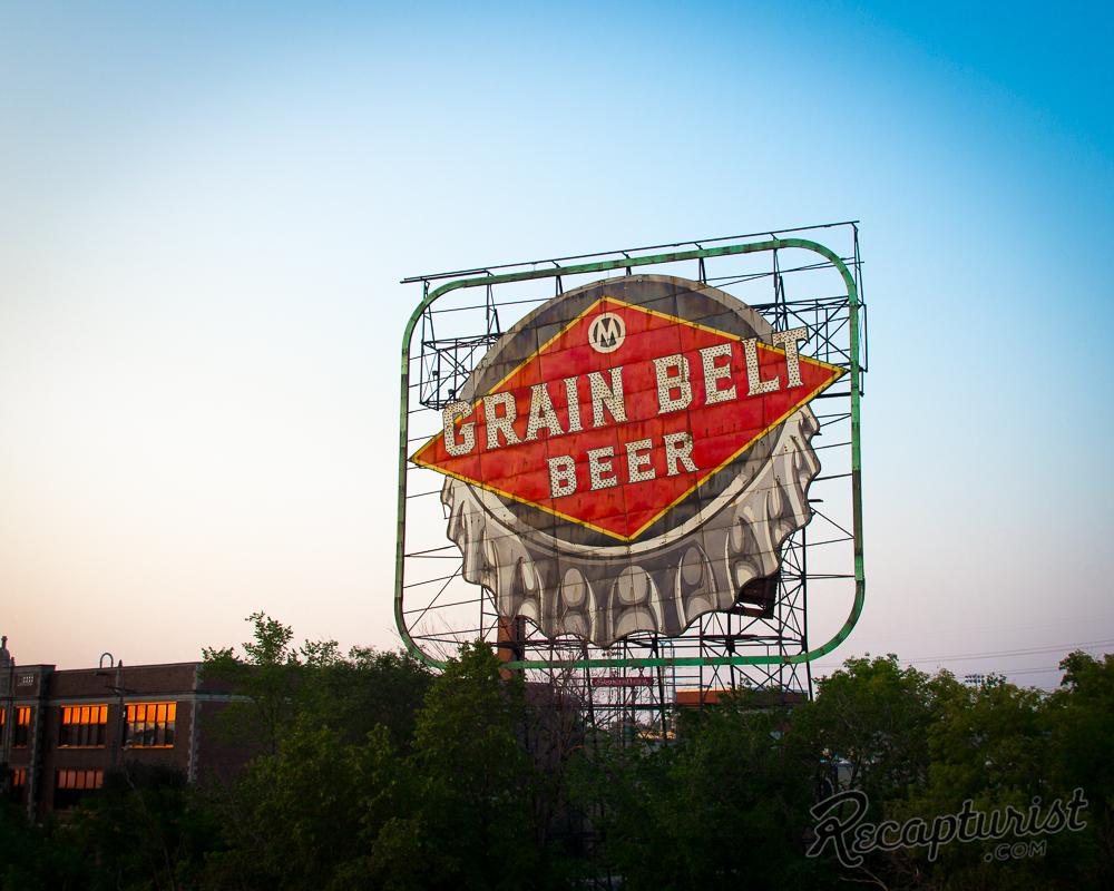 Grain Belt Beer Sign (Minneapolis, MN)